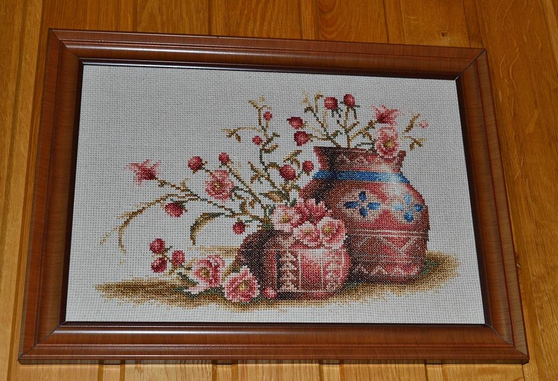 Персиковый цвет вышивка